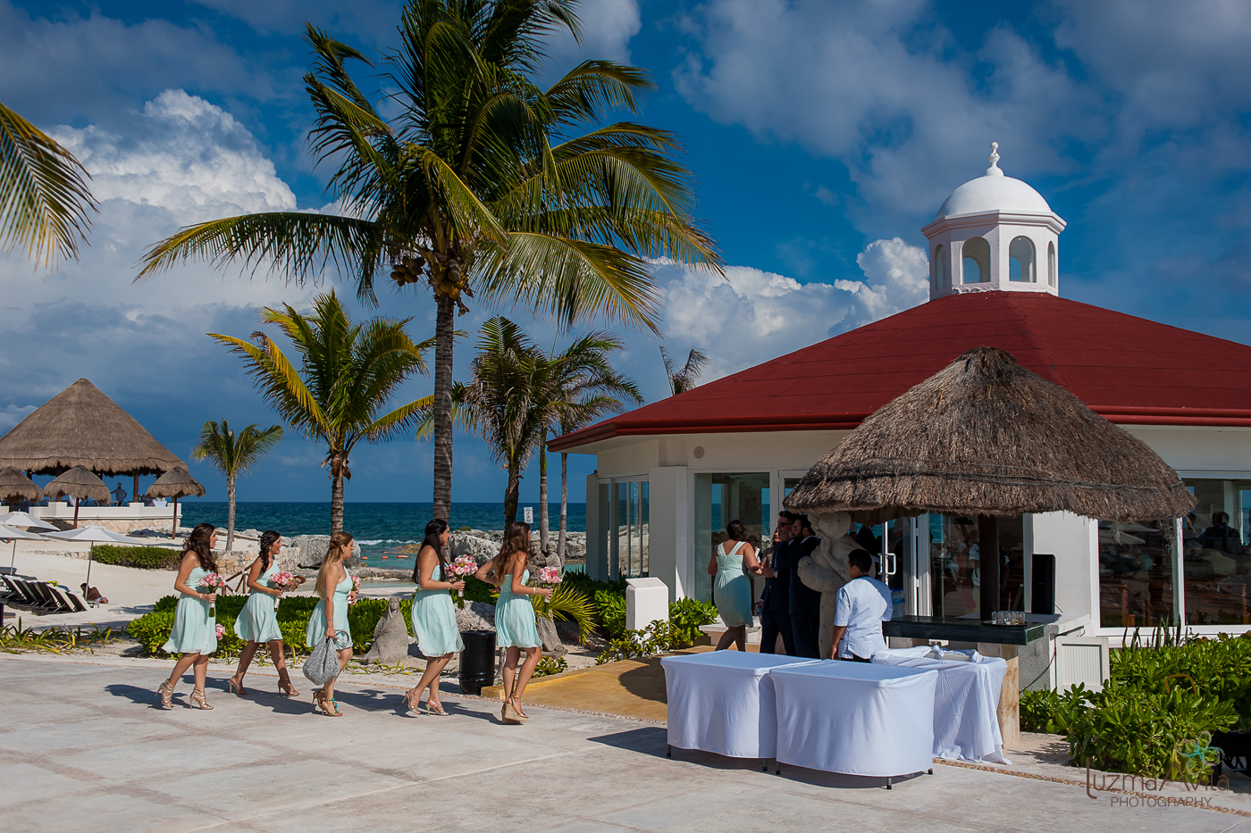 hard rock hotel cancun wedding photos