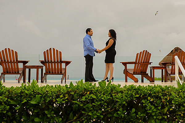Sandy & Jorge   Hotel Krystal Cancun