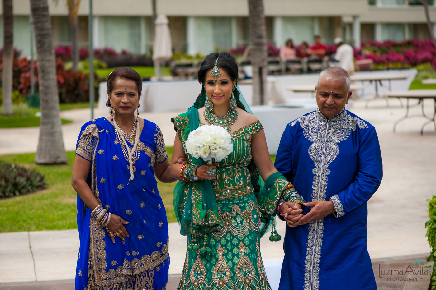 cancun hindu wedding photography