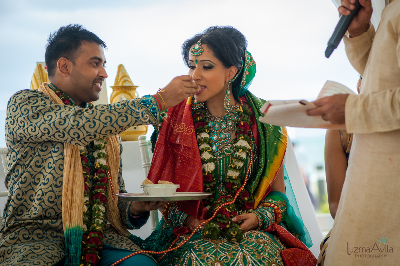 cancun hindu wedding photography