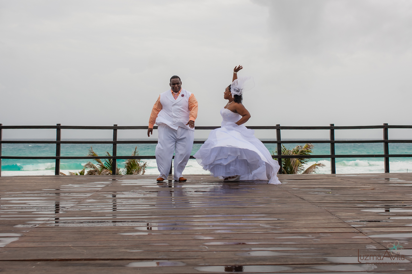 grand oasis cancun wedding photography