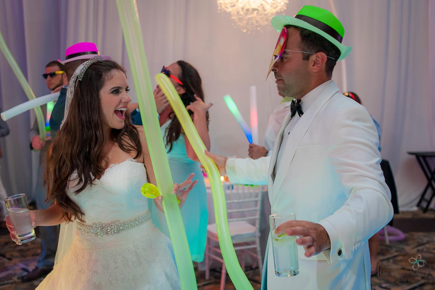 hard rock hotel cancun wedding photos