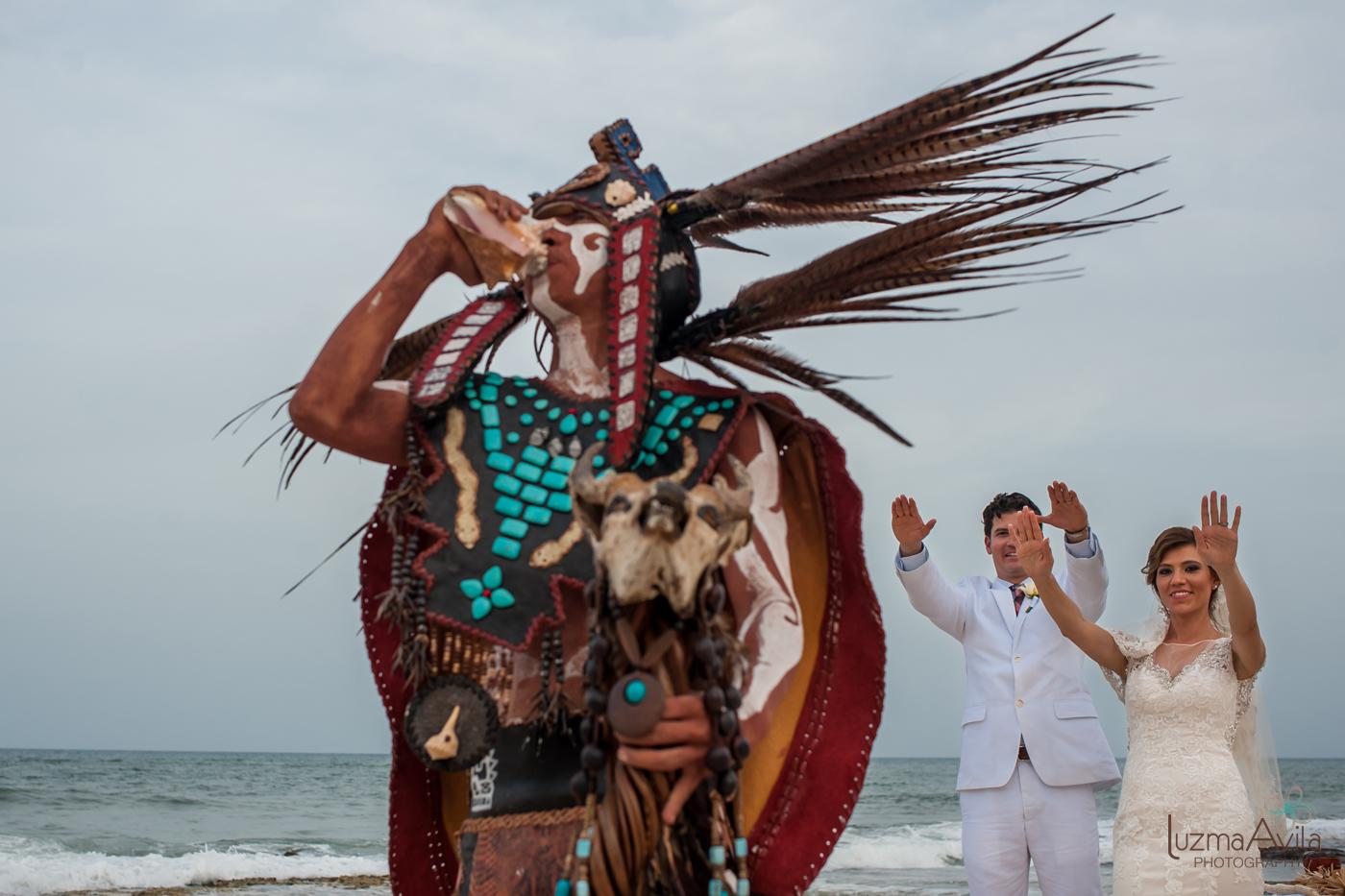 mayan wedding ceremony cancun