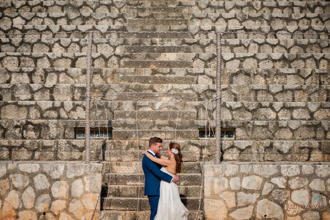 xcaret wedding photos