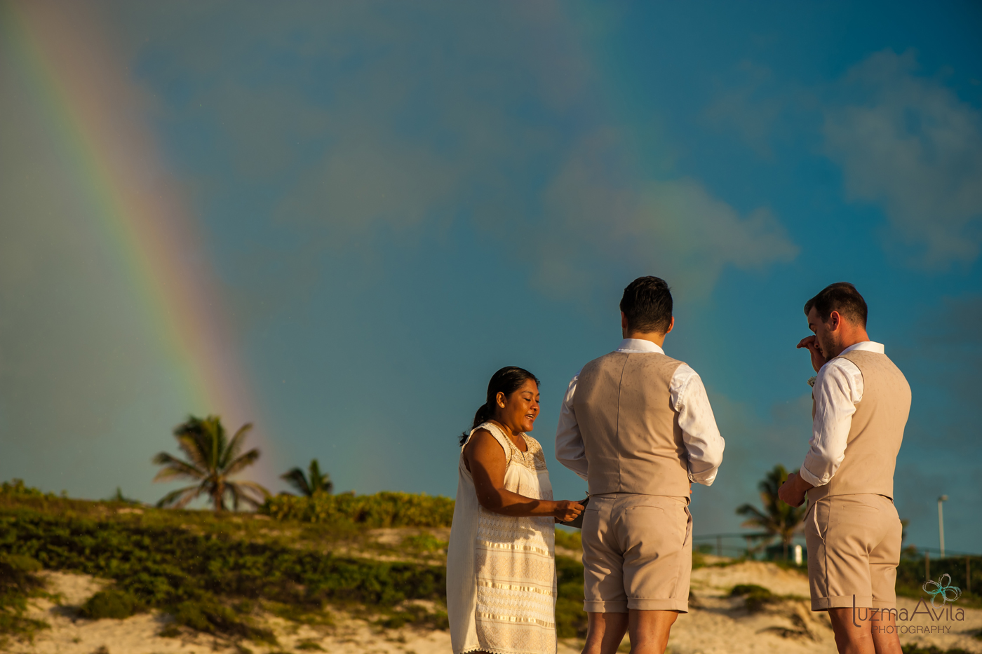 cancun gay wedding