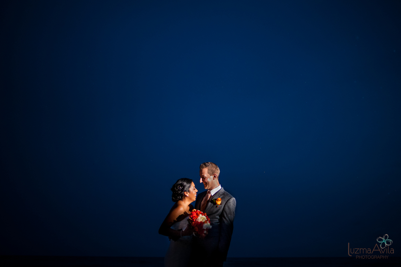 hotel krystal cancun wedding photos
