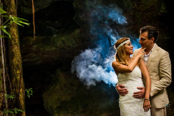 Vanessa & Luis   Cenote TTD