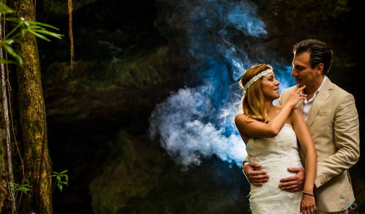 Vanessa & Luis | Cenote TTD