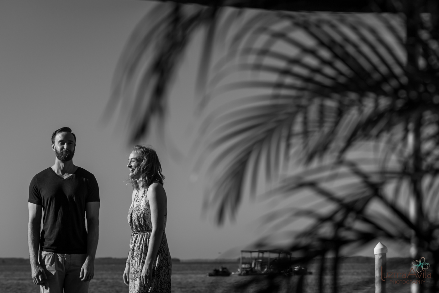 cancun engagement photo session