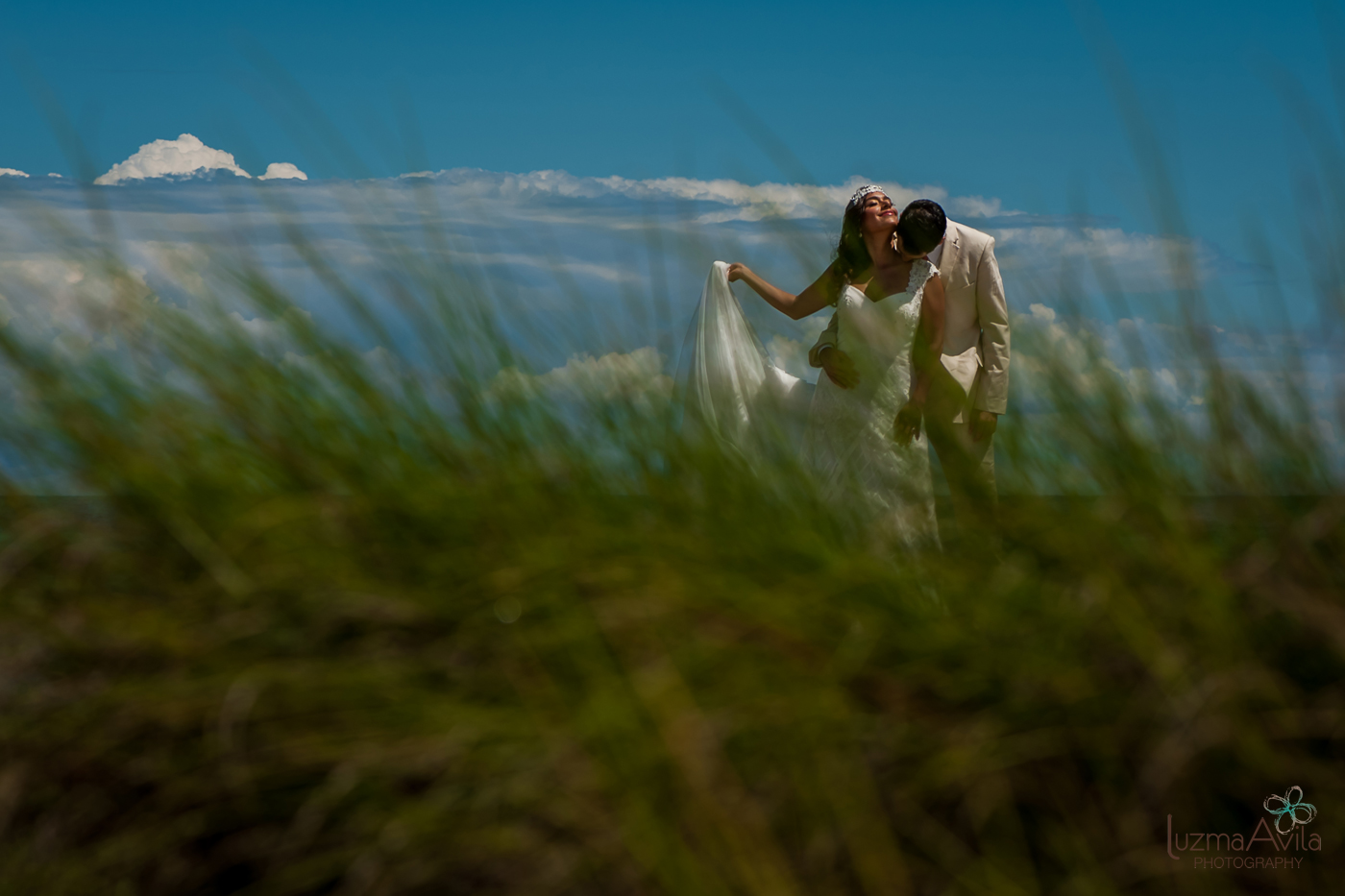 trash the dress photography cancun