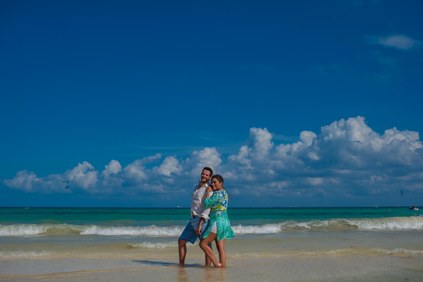 engagement session playa del carmen
