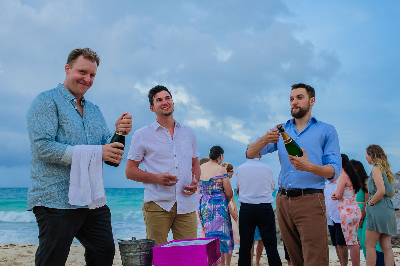 posada punta piedra wedding photos