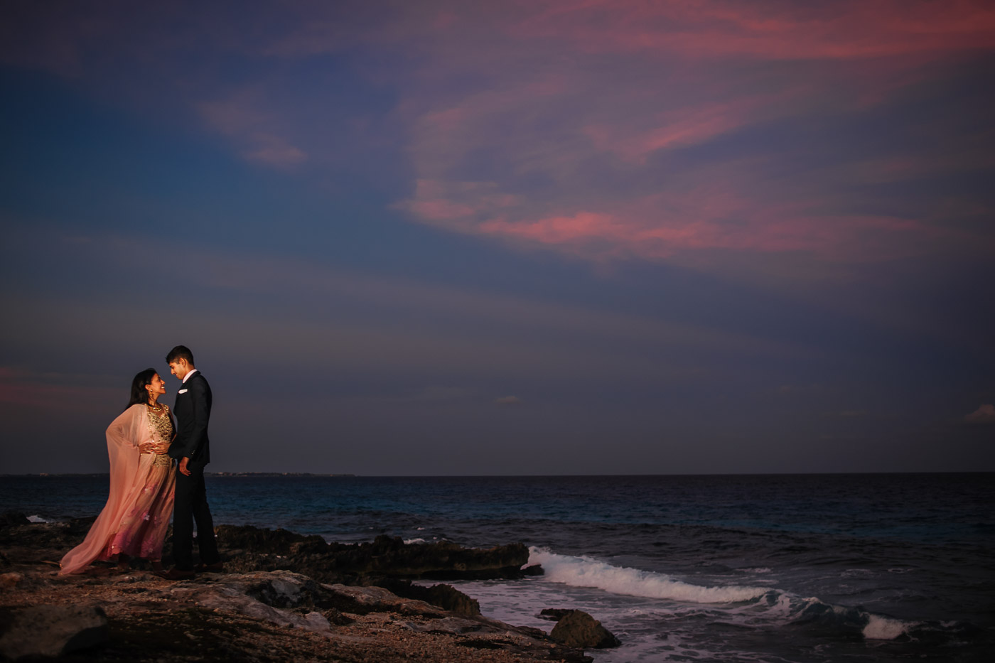 Hyatt Ziva Cancun Engagement Photos