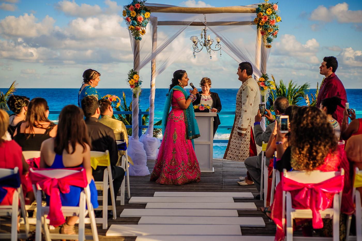 Grand Oasis Pyramid Cancun Wedding