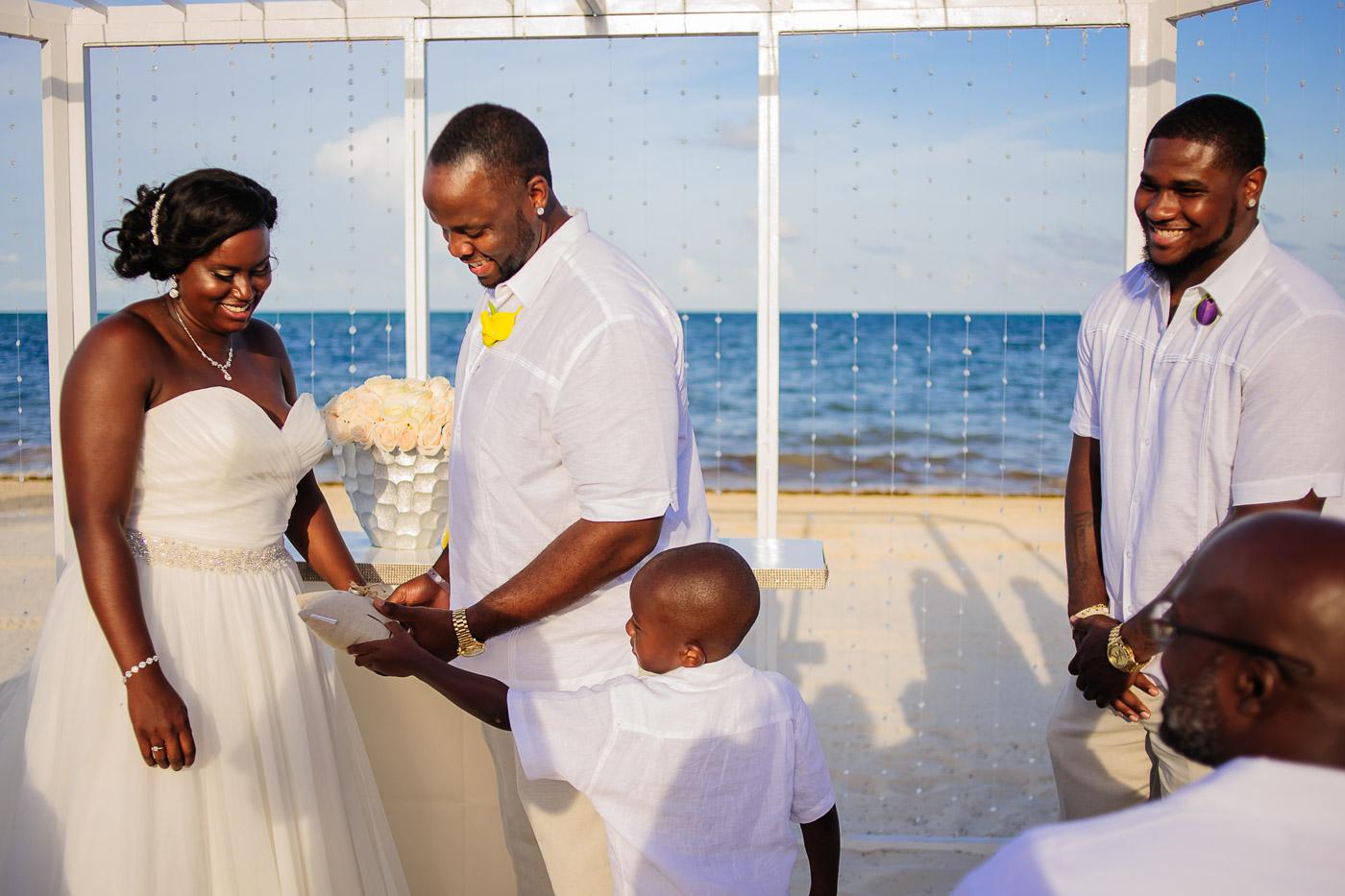 Hard Rock Riviera Maya wedding photos