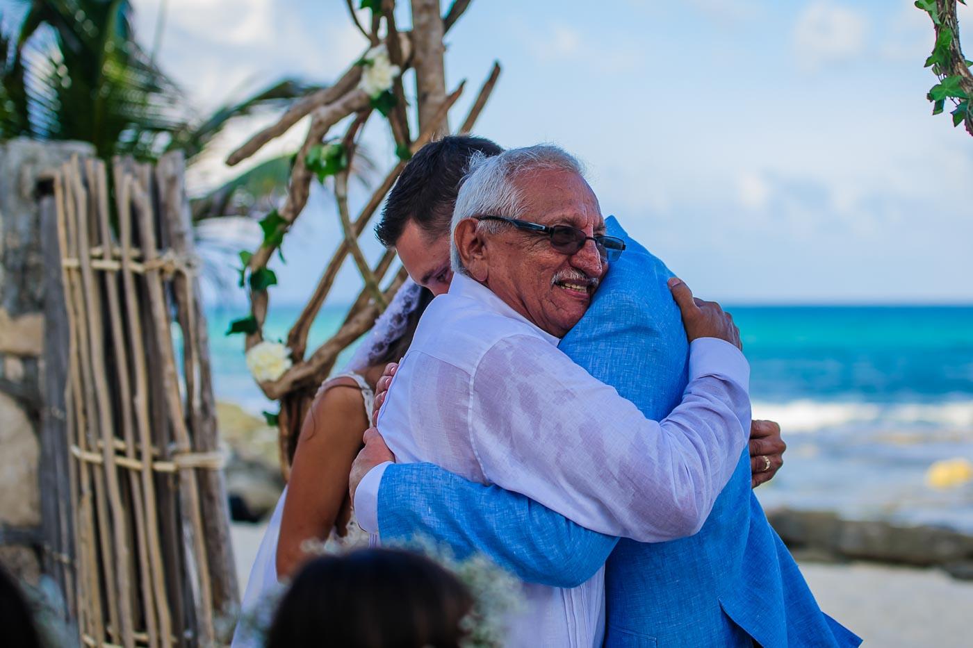 hard rock wedding photographer in cancun