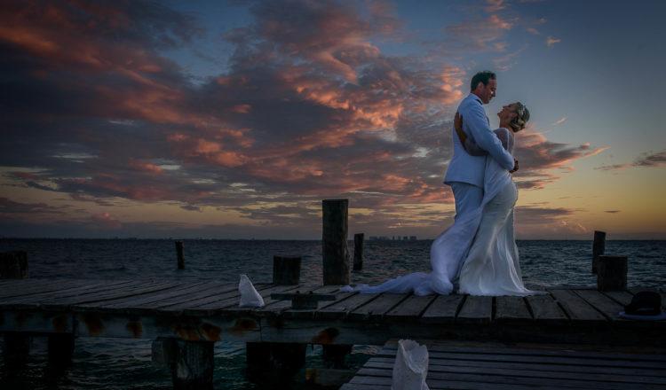 Margot & Scott | Zama Beach Isla Mujeres